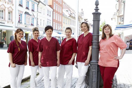 Team der Zahnarztpraxis Wiedenmann