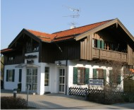 Firmengebäude VR Bank Iffeldorf - Filiale der VR Bank Starnberg-Herrsching-Landsberg