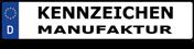 Logo von Kennzeichen-Manufaktur
