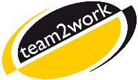 Logo von team2work GmbH Gaggenau