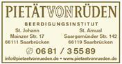Logo von PIETÄT von Rüden