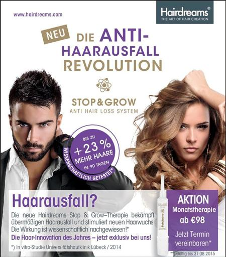 Hairdreams Stop&Grow Haarausfall Therapie - M-Friseurhaus