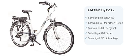 L8-PRIME E-Bike - GmbH