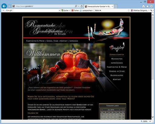 Individuelle Homepage Webdesign - proVices Mattias Geigenberger