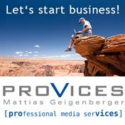 Logo proVices Mattias Geigenberger