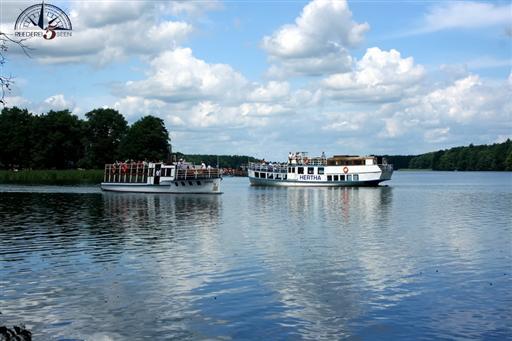 Hertha und Neptun der Reederei 5 Seen