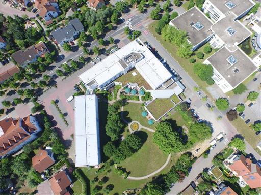 Luftaufnahme bzw. Luftbild eines Hotels Beispiel 1